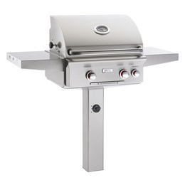 "AGO 24"" T Model Grill Only With Post"