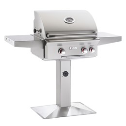 "AOG 24"" T Model Grill Only Post & Base"