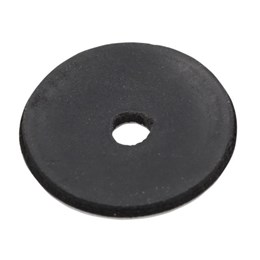 "1-1/8"" Black Rumble Button"