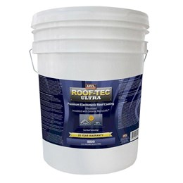 5 Gallon White Elastromeric Roof Coating