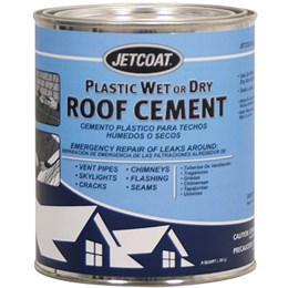 ROOF CEMENT 1 GAL WET/DRY