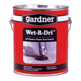 1 Gallon WET-R-DRI Roof Cement