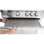 5- Burner Grill Drip Pan Flame Guard